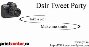 Dslr TweetParty