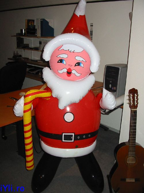 Santa in my study