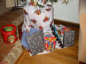 surprises under the tree