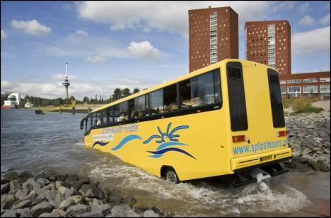amfibiebus Rotterdam 1