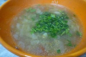 supa cu varza